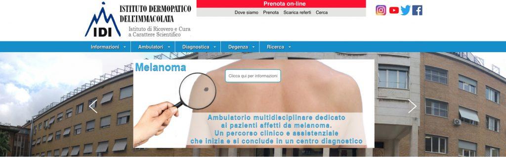 Giornata di prevenzione con visite gratuite all'IDI di Roma il giorno 26 settembre 2019 - cheratosiattinica.it